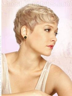 Perfect Pixie Blonde Look with Texture