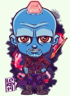 Guardians of the Galaxy - Lord Mesa Art Chibi Marvel, Marvel Dc Comics, Marvel Heroes, Marvel Avengers, Cartoon Kunst, Comic Kunst, Cartoon Art, Comic Art, Films Marvel