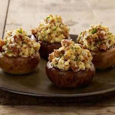 Sausage Stuffed Mushrooms Allrecipes.com