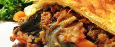 Chilli Con Spinach Pie