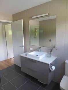 Athena Smartstone with square basin Bathroom Vanity, Bathroom Renovation, Bathroom Decor, Bathroom Mirror, Laundry In Bathroom, Kitchens Bathrooms, Bathroom Renovations, Basin, Bathroom