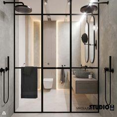 duży prysznic - zdjęcie od MIKOŁAJSKAstudio - Łazienka - Styl Minimalistyczny - MIKOŁAJSKAstudio