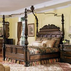 astounding canopy bed