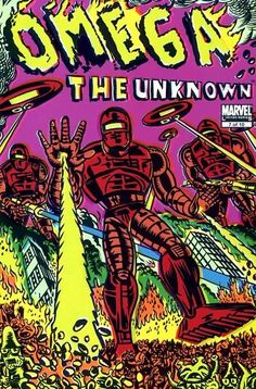 Omega The Unknown (Vol. 2) #7 Cover by Gary Porter