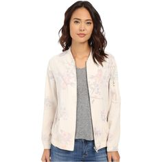 Obey Maven Jacket (Natural Multi) ($73) ❤ liked on Polyvore featuring outerwear, jackets, multi, flight jacket, pocket jacket, zip bomber jacket, pink zip jacket and blouson jacket