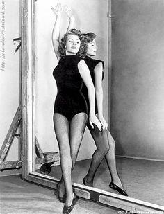 Rita Hayworth a real beauty