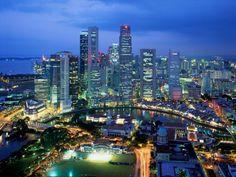 """Singapore  Die """"Löwenstadt"""" hat mich auch schon Fasziniert! So eine Art von Management Kurs beigewohnt.(Hotelfach)"""
