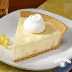 Lemon Icebox Pie from Eagle Brand®