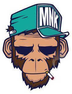Descargar gratis T-shirt Gorilla Hoodie Monkey Art - Smoking a bad monkey png : y KB. Illustration Singe, Digital Illustration, Vector Illustrations, Logo D'art, Monkey Art, Graffiti Characters, Graffiti Cartoons, Dope Art, Graffiti Art
