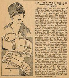 1925? hat instructions
