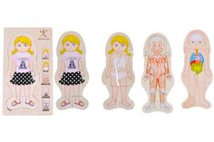 Body Amazing - Girl - Discovery Toys. A fun introduction to anatomy! Explore the key layers of the human body with this beautifully illustrated layered wood puzzle. Each layer, when assembled, reveals a key part: http://www.discoverytoys.com/PublicStore/stores/ilovelearning/AM/product/Body-Amazing-Girl,1580,180.aspx#sthash.a6Sz1CFO.dpuf