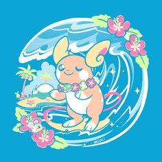 TAKARA TOMY Pokemon XY Puka-Puka Pikachu Floating doll Water bath toy from JAPAN