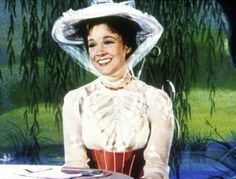 my childhood role model Music For Toddlers, Toddler Music, Julie Andrews Mary Poppins, Mary Poppins Jolly Holiday, Mary Poppins Costume, Defying Gravity, See Movie, Young Actors, Beautiful People