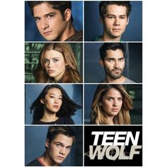 #TeenWolf Season 4 Cast Teen Wolf ❤ liked on Polyvore featuring home, home decor and teen wolf