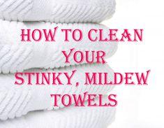 Easily De-Funk Your Bath Towels