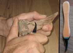 How to Make Whittling Knives thumbnail Whittling Knife, Whittling Wood, Whittling Projects, Walking Sticks And Canes, Wooden Walking Sticks, Blacksmithing Knives, Knife Making Tools, Best Pocket Knife, Pocket Knives