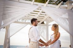 """Evelyn Heredia and Agustin Carro Schuck"" made their dream come true in Punta Cana. Niko Bertino Photography #BeachWedding #GrandPalladiumPuntaCana #BodaPlaya"