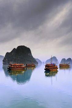 Halong Bay, The Dragon Bay - Vietnam -