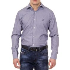 Versace 19.69 Abbigliamento Sportivo Srl Milano Italia Mens Classic Neck Shirt 377 ART. 400