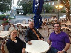 Gedankenaustausch: Sabine & Cemal Osmanovic, Oliver Geisselhart
