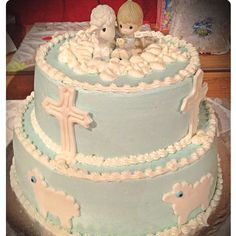 Brody's baptism cake