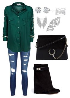 """""""Untitled #1648"""" by cecily-stagrum-buch on Polyvore featuring J Brand, OneTeaspoon, Chloé, Givenchy, Harry Kotlar and Effy Jewelry"""