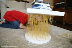 How Strong is Spaghetti? STEM Challenge for Kids