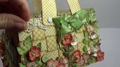 March 2015 G45 Once Upon a Springtime - Easter Basket with Tutorial by Annette Green