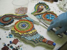 lots of little pieces! by Institute of Mosaic Art, via Flickr