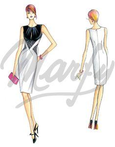 Nos Patrons :: Marfy Collection 2015/2016 :: Patron de couture 3659 -
