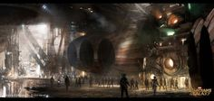 Impressive concept art done by Bob Cheshire for Guardians of The Galaxy!