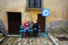 biancoshock brings 'real-life' internet to the elderly residents of an italian village