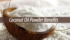 Coconut Oil Powder is Keto and Paleo friendly, being one of the richest sources of saturated fats. It can help you lose weight and protect you infections.