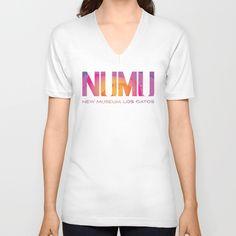 NUMU Logo as Lava Lamp Unisex V-Neck