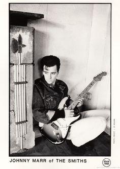 Johnny Marr Promo Shoot. Photo by Jo Novark (aka Pat Bellis). Via Sonic More Music. #TheSmiths