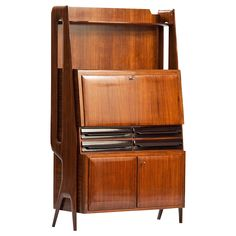 Ico Parisi High Cabinet   From a unique collection of antique and modern cabinets at https://www.1stdibs.com/furniture/storage-case-pieces/cabinets/