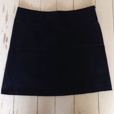 Black Mini Skirt Perfect condition black mini skirt! Great for work or a night out. 97% cotton 3% spandex Necessary Objects Skirts Mini