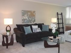 2000 sq for this very spacious condo Staging, Condo, Furniture, Home Decor, Role Play, Decoration Home, Room Decor, Home Furniture, Interior Design