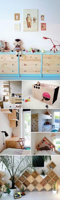 Ideias para quarto de crianças