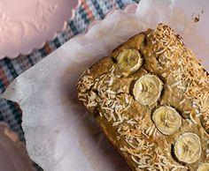 Paleo Coconut flour Banana bread (gluten free, dairy free, fructose friendly, grain free) by Chompchomp - Recipe of category Baking - sweet