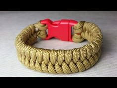 """How to Make a """"Mad Max Style"""" Closed Loop Closure Fishtail Paracord-Mini Fishtail Closure Pull - YouTube"""