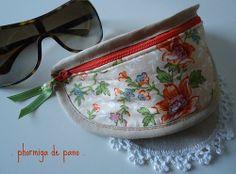 Caixa para óculos de sol . Sunglasses case # 03... by phormiga de pano