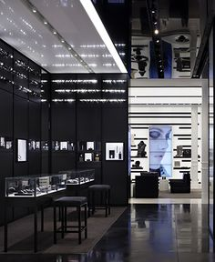 Chanel store: NYC. Architect Peter Marino Cool sungalsses just need$24.99!!! website for you : www.glasses-max.com