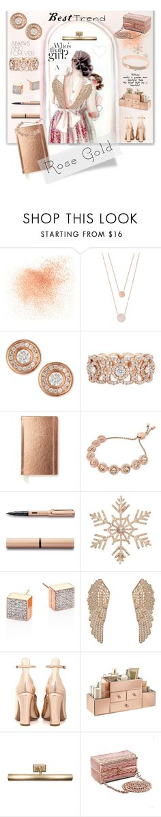 """""""So Pretty: Rose Gold Jewelry"""" by kapua-blume ❤ liked on Polyvore featuring Eve Lom, Michael Kors, Roberto Coin, De Beers, Kate Spade, John Lewis, Ginette NY, Latelita, Valentino and Jayson Home"""