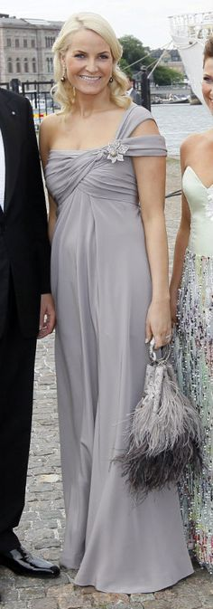 Princess Mette-Marit of Norway in Valentino