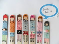 popsicle stick dolls!!