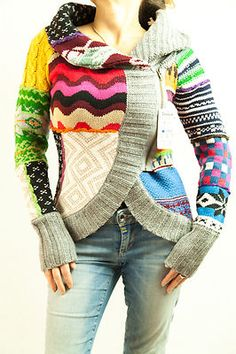 Love it! Desigual Jacket Jers Lara with Tags Small (S)  - 2012 2013 Collection