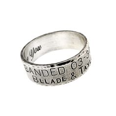 the super popular duck band wedding ring band your mate for life - Duck Band Wedding Ring