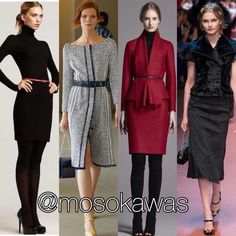 Mosokawas - Fashion Reviews Four Ladies Mosokawas Look: Ring the Bell on Wall Street! Photos: 1- Pinterest; 2- @oscardelarenta; 3- @houseofherrera; 4- @dolcegabbana #style #fashion #instafashion #fashiongram  #instastyle #fashionista #hairstyle #infashion #instyle  #instalook #accessories #glow #shoes #pinterest #mosokawas #lookoftheday #outfit #ootd #usa #newyork #dolcegabbana #carolinaherrera #houseofherrera #oscardelarenta #wallstrett #businesswoman #exchange #bell #business #workday