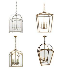 inspiration - LanternLove Visual Comfort & Co Get the Look at Mayer Lighting Showroom www.mayerlighting.com
